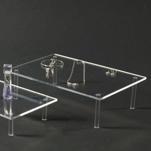 테이블사각(대)악세사리진열대 소품진열대 아크릴진 상품이미지