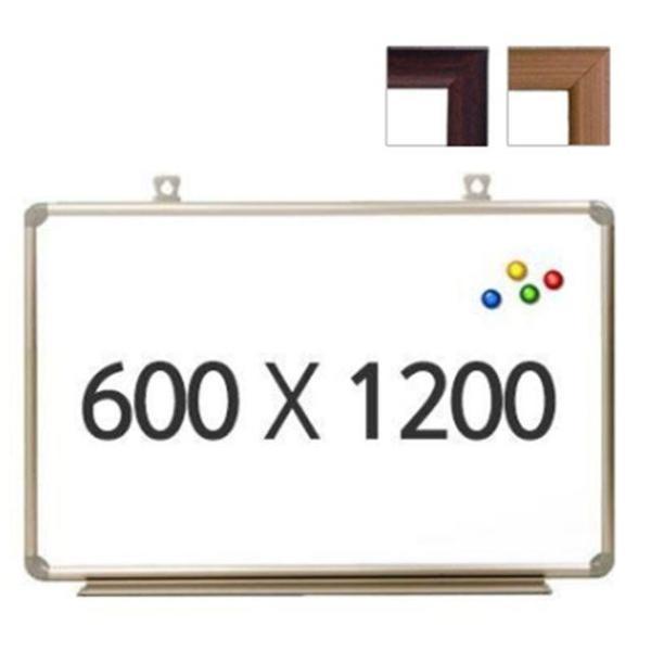 토탈 자석 우드 화이트보드 600X1200 상품이미지