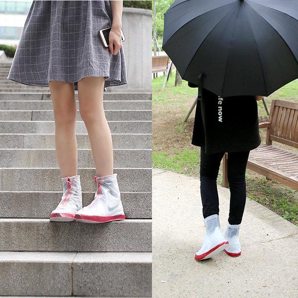 방수 신발커버 / 장화 레인 장마출근신발 운동화 보호 상품이미지