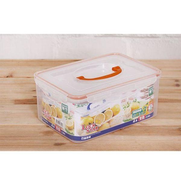 밀폐용기 2.8L별품 5개 냉장고정리용기 플라스틱용 상품이미지
