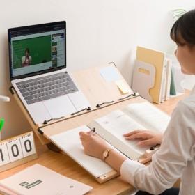 국산 2단 독서대 각도조절 책받침대 와이드 40Cm