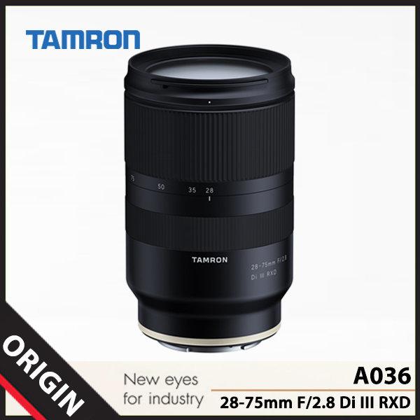 탐론 28-75mm F/2.8 Di III RXD A036 (소니-FE마운트) 상품이미지