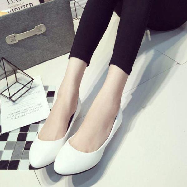 가을 펌프스 여성구두 정장구두 신발 낮은굽 사이즈 상품이미지