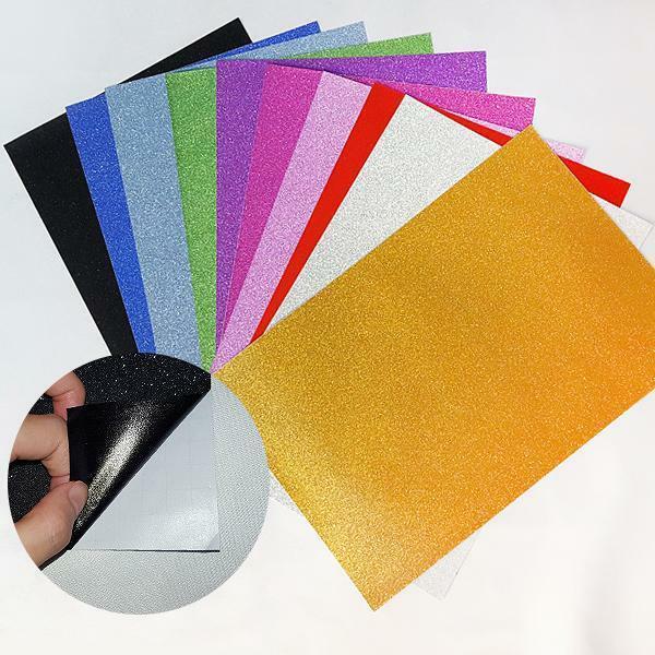 ts21026 반짝이 종이스티커(10가지 혼합색상) 상품이미지