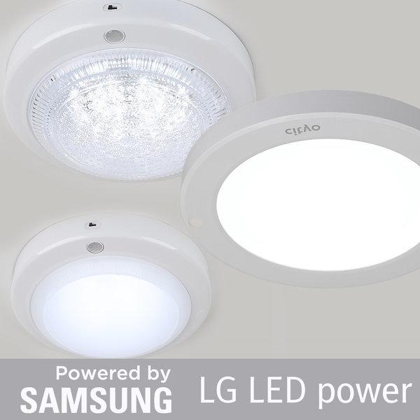 LED 센서등 직부등 현관 등 전구 형광등 베란다 교체 상품이미지