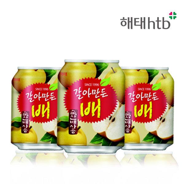 갈아만든 배 238mlx24캔/주스/음료/배/과일 상품이미지