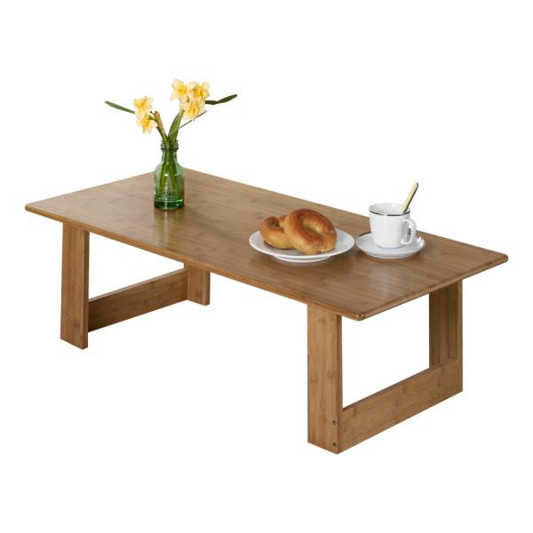 미크 접이식테이블/ 대나무 원목/ 좌식책상/ 거실탁자 상품이미지