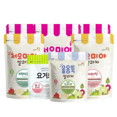 Rice Cookie Town 10+2+ Mama Snack/Yogurt/Fruit Chip/Pop Rice