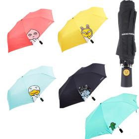 카카오프렌즈 헬로 55 완전자동우산/3단우산