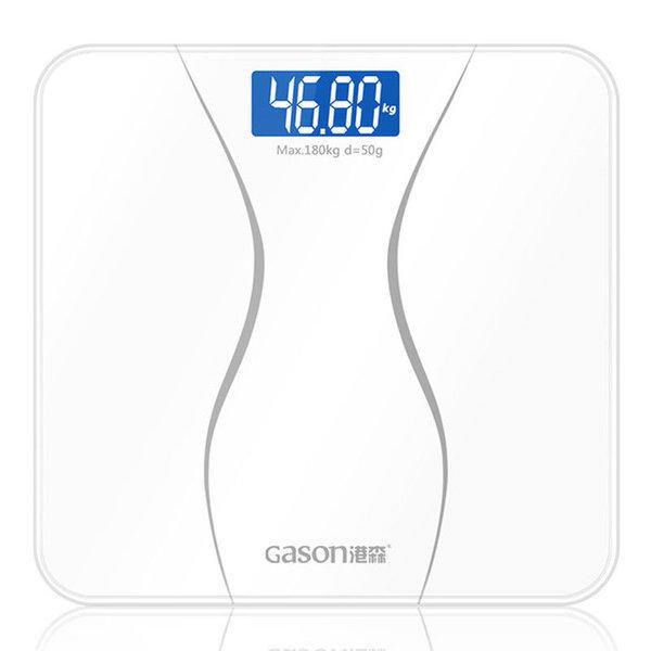 GASON A2 스마트 무게 디지털 체중계 화이트 상품이미지