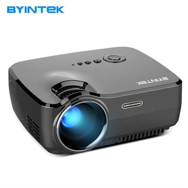 BYINTEK 휴대용 LED HD 홈 시어터 프로젝터 블랙 상품이미지