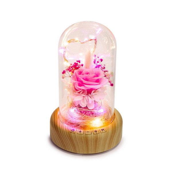 블루투스 오디오 스피커 LED 핑크 0 5W 상품이미지