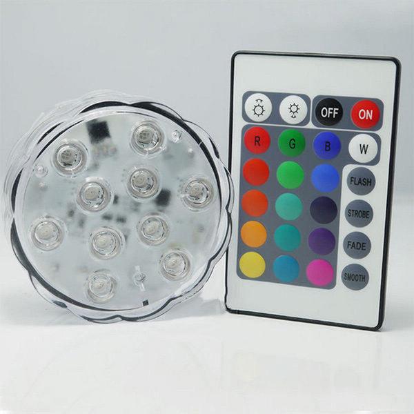 컬로풀 라이트 코스터 리모컨 제어 RGB 화이트 0 5W 상품이미지