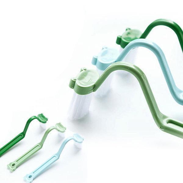 (KIMOS)코너 변기솔 청소솔 청소도구 욕실청소 변기 상품이미지