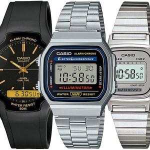 [카시오]카시오정품 손석희손목시계 A-168WA-1W LA670WA-7D