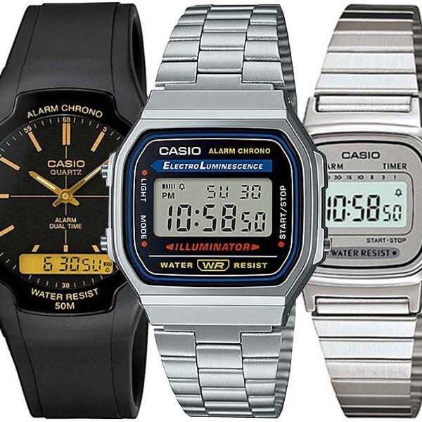 카시오 손석희손목시계 A-168WA-1W LA670WA-7D 빈티지 상품이미지