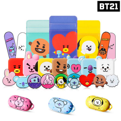 BT21 Official Product Galaxy Buds AirPods Pro Case Figure Tok