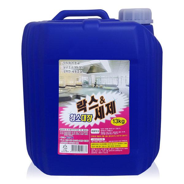 대용량 락스세제 욕실바닥 주방위생청소 청소대장13kg 상품이미지