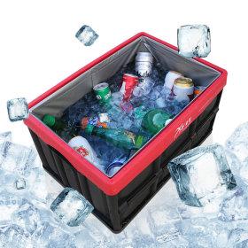 하드케이스+방수팩Set 자동차트렁크정리함 아이스박스