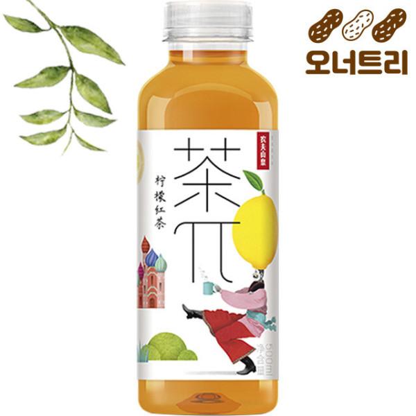 차파이 빙홍차(레몬홍차) 500ml 레몬 아이스티 신제품 상품이미지