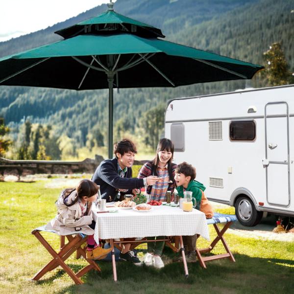 레이안 파라솔 풀세트/캠핑/비치/테이블 받침대포함 상품이미지