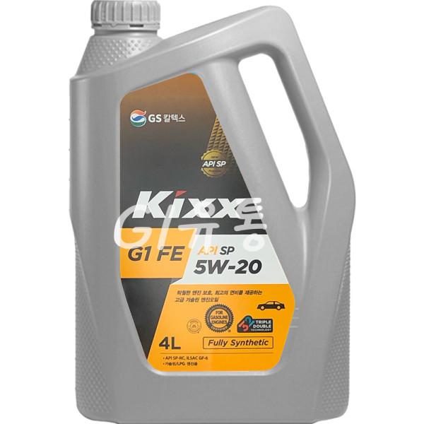 킥스 Kixx G1 FE SN PLUS 5W-20 4L 가솔린 엔진오일 SP 상품이미지