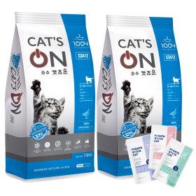 고양이사료 캣츠온 10kg X 2개 박스포장