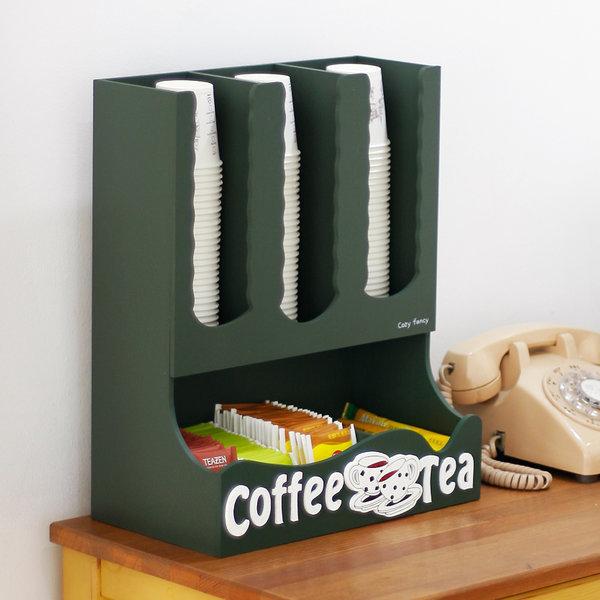 커피/티박스 커피보관함 커피 차 티백 정리함 탕비실 상품이미지