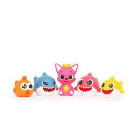 핑크퐁 상어가족 목욕물총 5종 세트 신나게 물총놀이 하면서 아이의 목욕시간이 즐거워져요