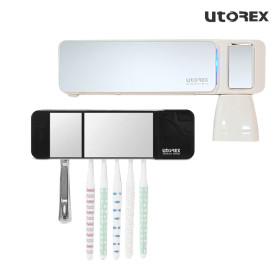 유토렉스 헤드형 칫솔살균기 블랙 UTC-5400B