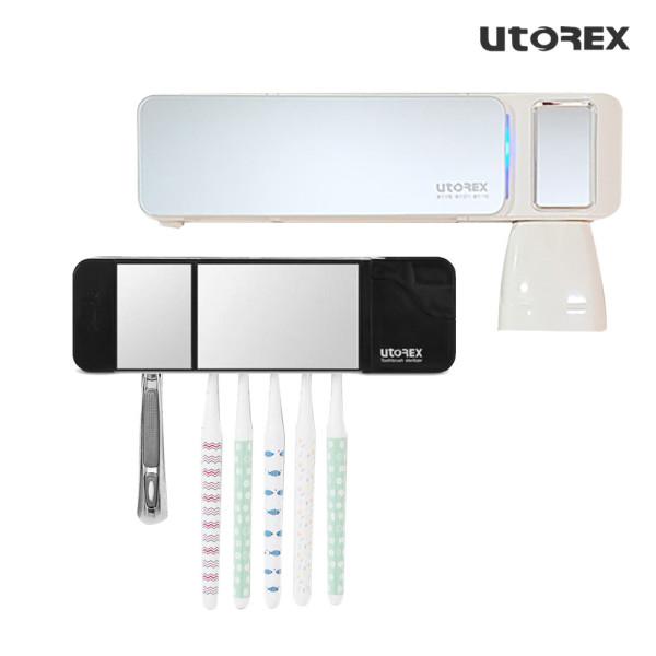 유토렉스 헤드형 칫솔살균기 블랙 UTC-5400B 상품이미지
