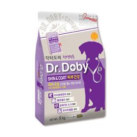 닥터도비 피부건강 5kg 기능성 강아지사료 애견사료