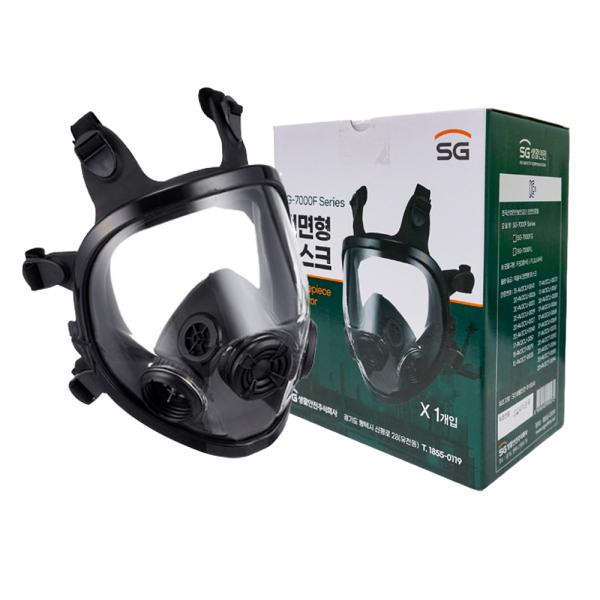 방독마스크 SG-7000F 방진겸용 3M 6800타입 안전검사 상품이미지