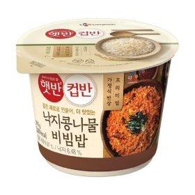 CJ_햇반컵반_낙지콩나물비빔밥_216G