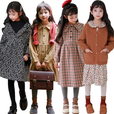 JENNY STUDIO Fall new arrivals lovely/dress/long tee/loose fit