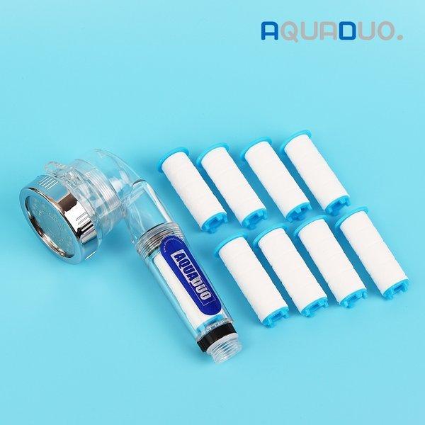 (아쿠아듀오) 아쿠아듀오 SF-1000 주방정수필터 핸디형 일반+녹물필터 8EA 상품이미지