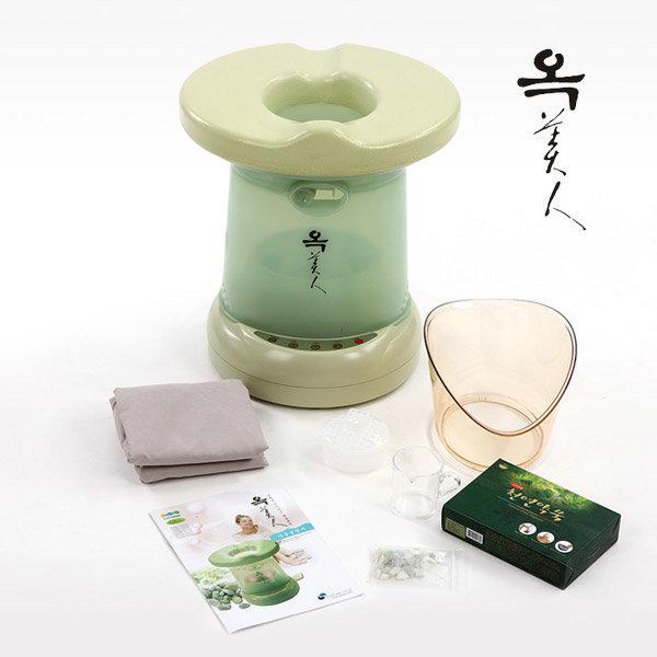 옥미인 좌훈기 SJH-417/스팀마사지/커버+치마+쑥포함 상품이미지