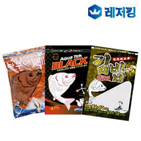 경원 아쿠아 삼합어분 민물낚시용품 아쿠아텍김밥블랙