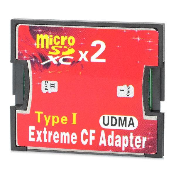 듀얼 마이크로 고속 어댑터 카드 레드 블랙 2TB 상품이미지