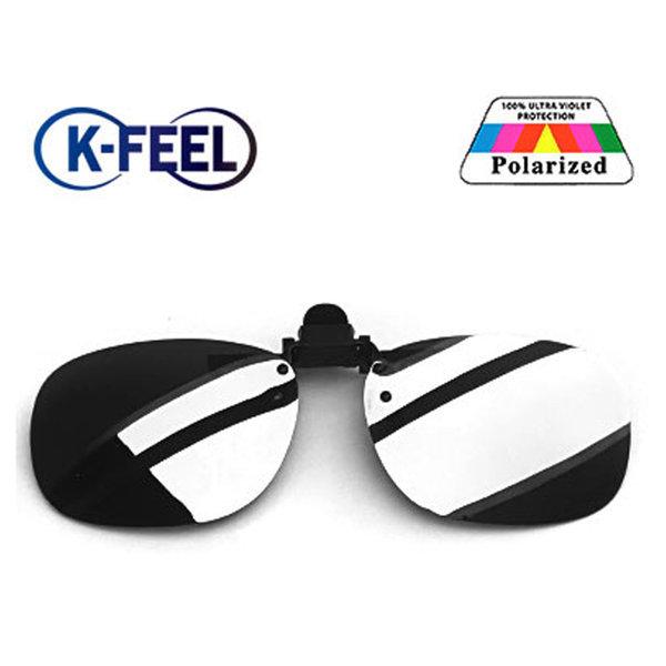 K-FEEL 편광 클립 선글라스 미러 썬글라스 실버 1001 상품이미지