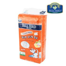 벨버드 크린패드 레몬향 (배변유도제 함유) 50매