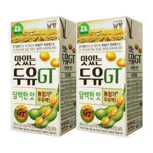 [맛있는두유GT]GT두유 담백한맛 190ml x 64팩 / 선물용두유