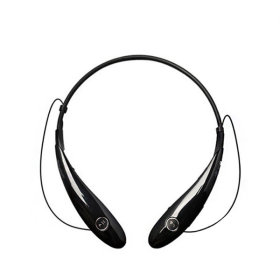 STBT-700 (블랙) 무선 블루투스 넥밴드 이어셋 이어폰
