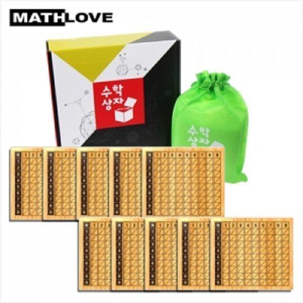 (수학사랑)(수학상자)네이피어 곱셈 막대 상품이미지