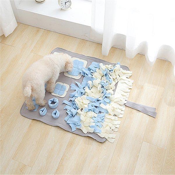 파스텔 노즈워크-중형(그레이)/강아지 장난감 코 담요 상품이미지