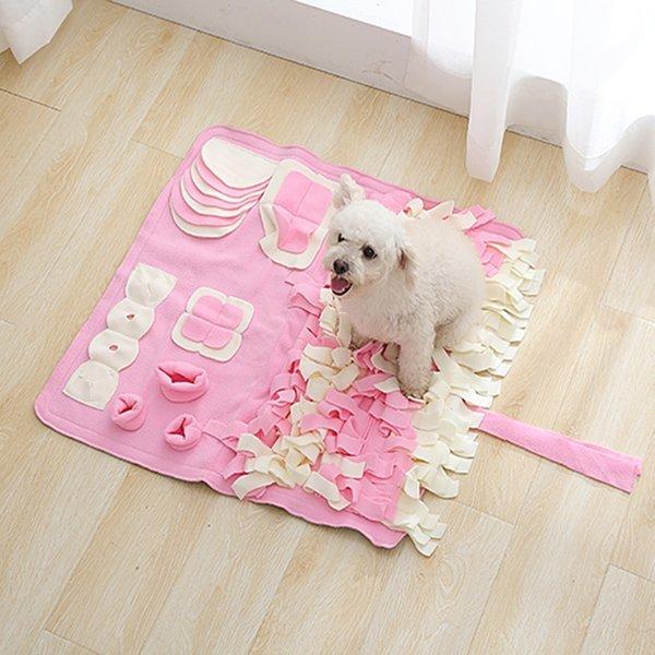 파스텔 노즈워크-특대형(핑크)/강아지 장난감 코 담요 상품이미지