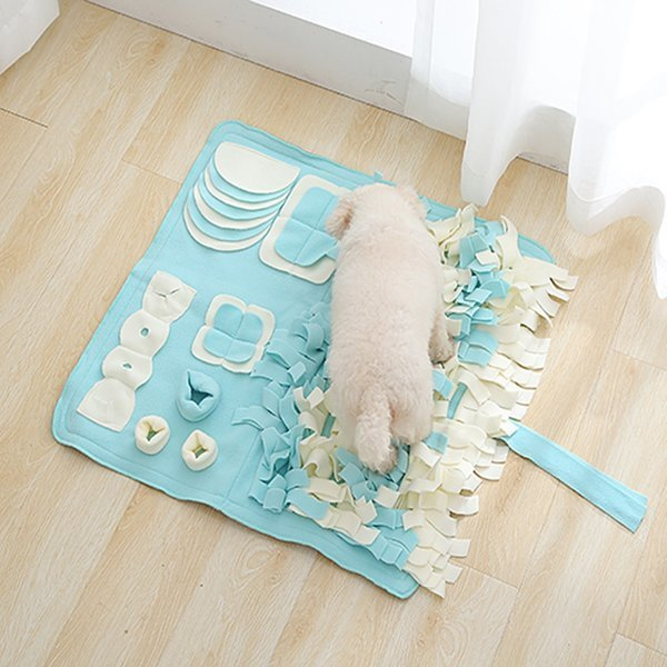 파스텔 노즈워크-특대형(민트)/강아지 장난감 코 담요 상품이미지