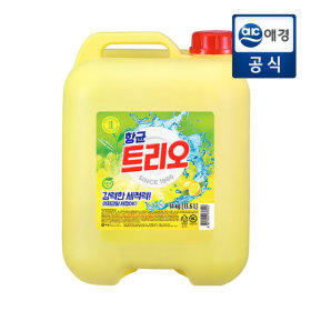 주방세제 항균 트리오 14kg (말통) 무료배송