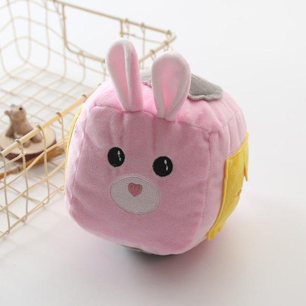 레빗 볼 노즈워크-핑크 (강아지 장난감 노즈워크볼) 상품이미지