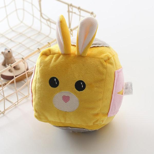 레빗 볼 노즈워크-노랑 (강아지 장난감 노즈워크볼) 상품이미지